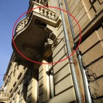 Вербицького, 9 обвал балкону